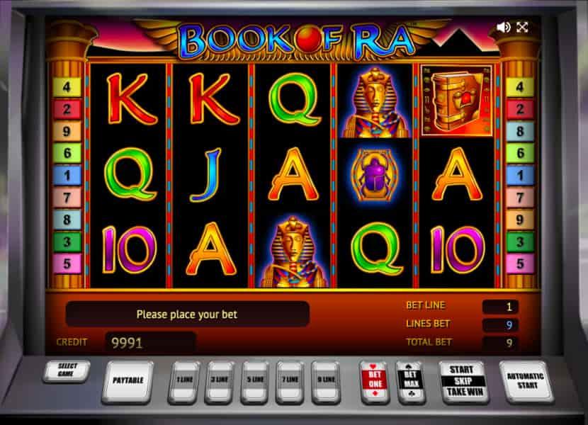 В онлайн режиме игровой автомат Book of Ra Deluxe (Книга Ра или Книжки) бесплатно играть или же скачать на компьютер без регистрации и СМС сообщений.